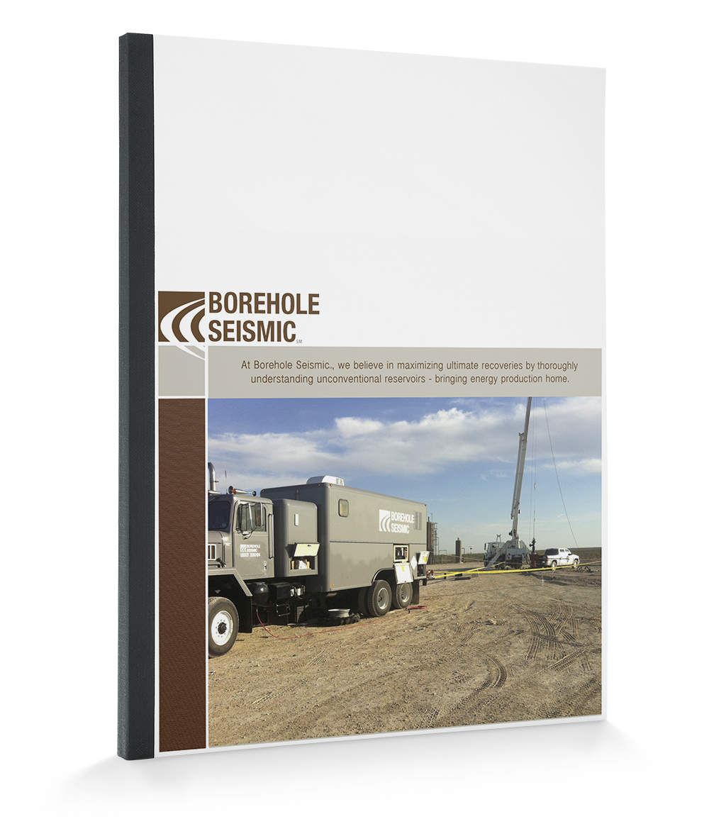 Borehole Seismic Brochure Design - KLN Design