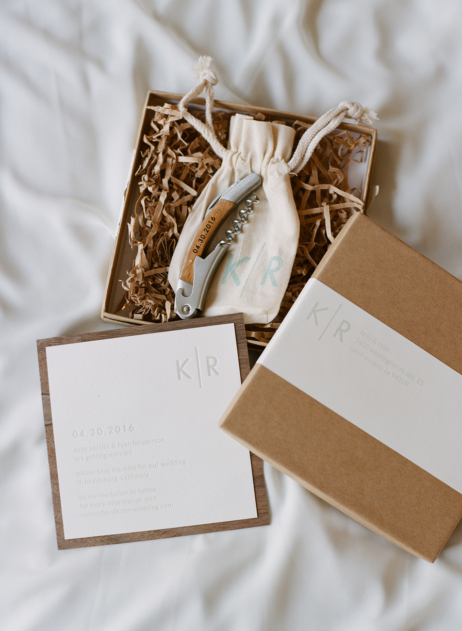 Wedding Guest Gift Packaging Design - KLN Design