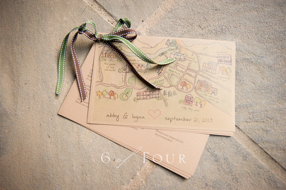 Wedding Welcome Information Guide Design - KLN Design