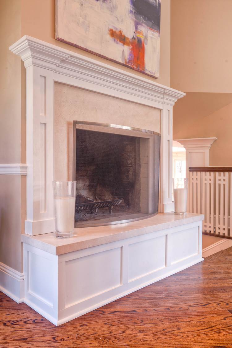 fireplace raised hearth. Limestone Fireplace Raised Hearth and Surround jpg  Fordham Marble