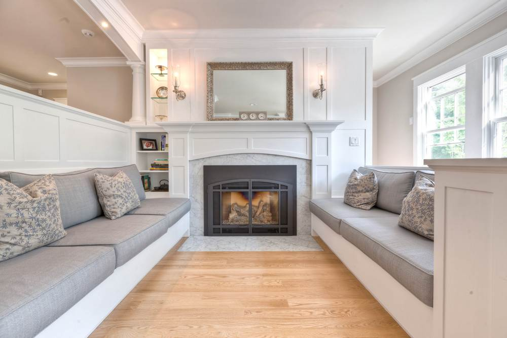 Fireplace Design marble fireplace surround : Fordham Marble