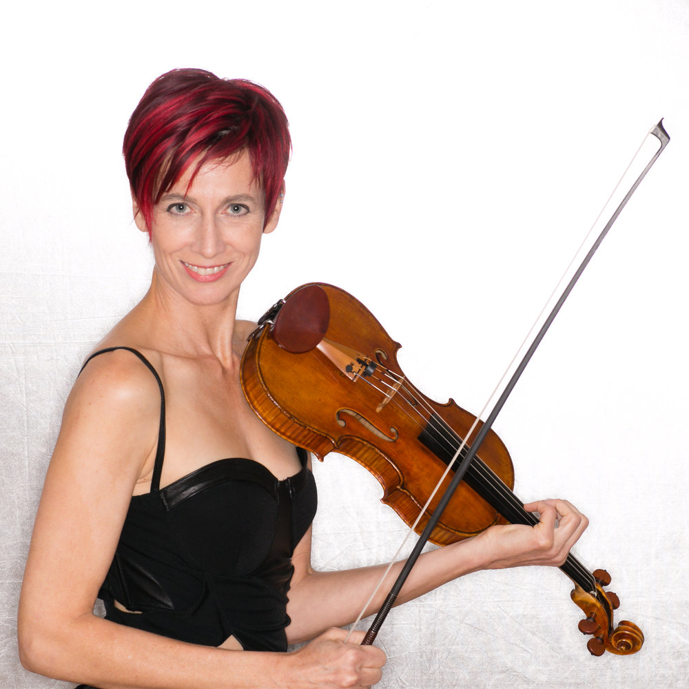 Gloria Justen, Violinist, Violist, Composer (photo Greg Habiby, ghimages.com)