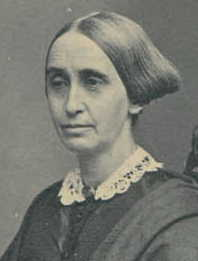 Portrait of Mary Grew from the Massachusetts Historical Society