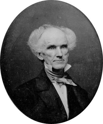 James Barton Longacre, 1855, from the National Portrait Gallery.