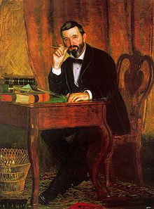 Horatio C. Wood painted by Thomas Eakins