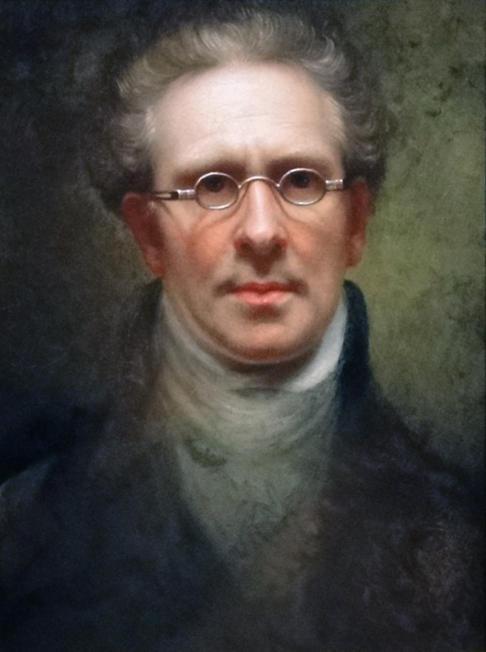 Self Portrait by Rembrandt Peale. From the Detroit Institute of Arts.