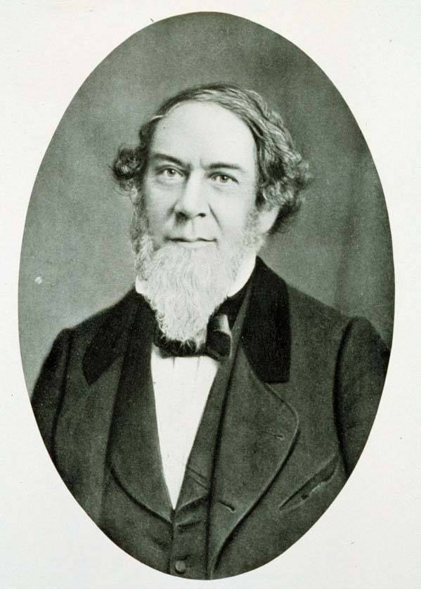 Alexander Dallas Bache, the first President of Central High School. Image from the National Oceanic and Atmospheric Administration Archives.