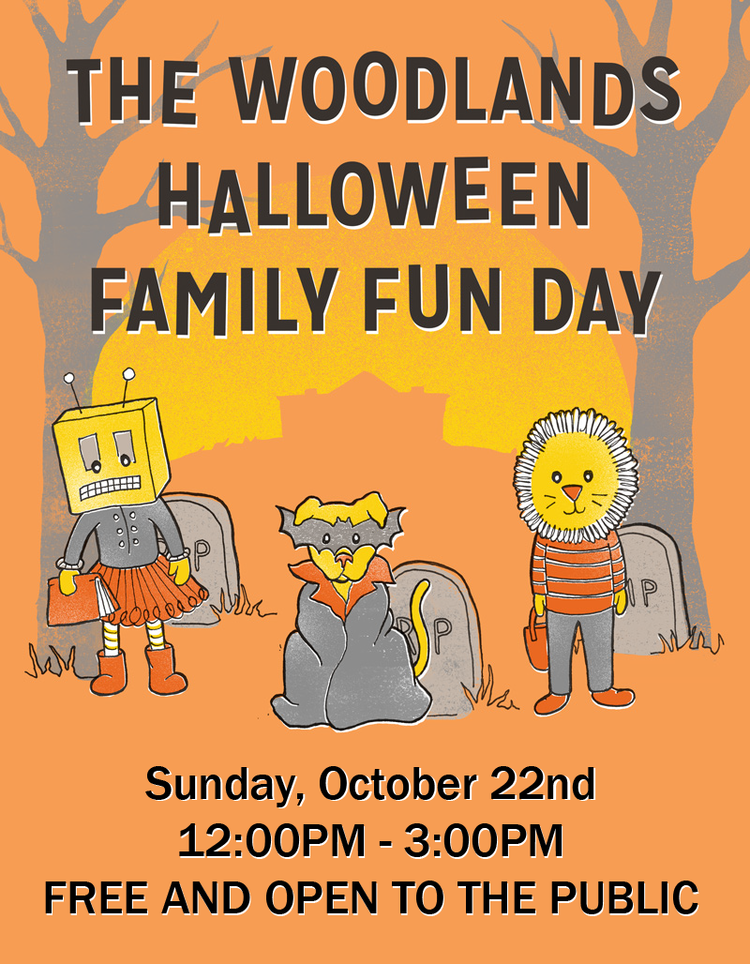 Halloween Family Fun Day Activity Line Up And Schedule The Woodlands