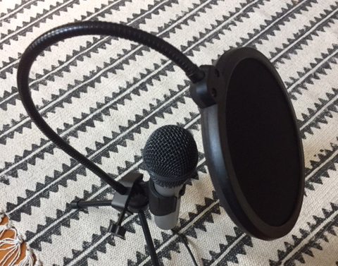 New mic and POP filter.JPG