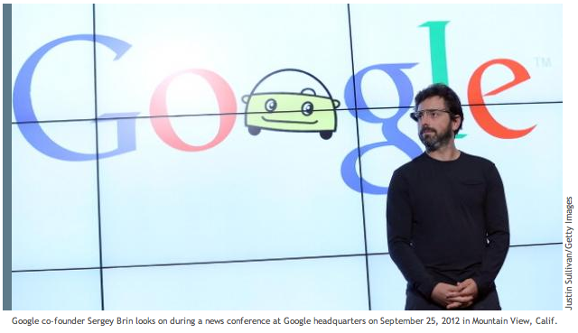 "Great story on the ""Ghost in the Machine"" of Google."