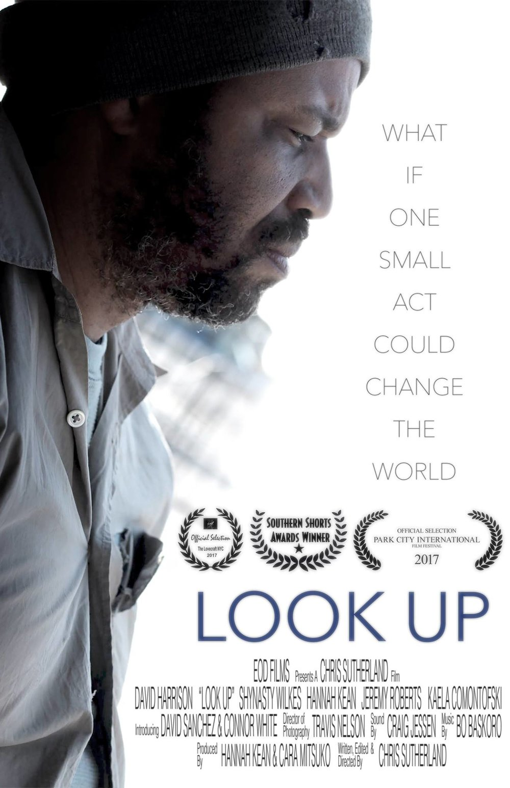 'Look Up' wins festival awards & lands online - Kaela plays Trish in this heartwarming story about a homeless man who is given a second chance. After making it's festival run and wining a few awards (yay!), 'Look Up' is now available to watch online.CLICK TO WATCH