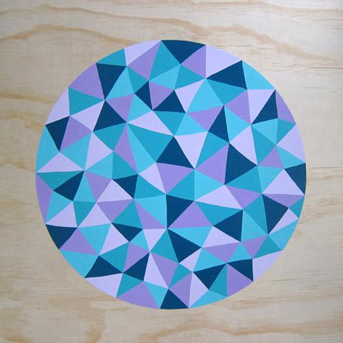 2013 Acrylic on plywood 800 x 800mm