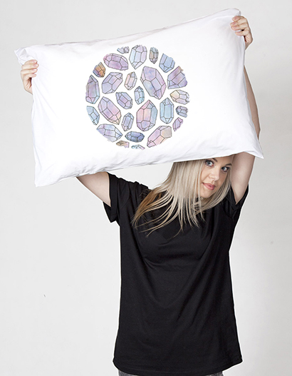 Diamonds pillow