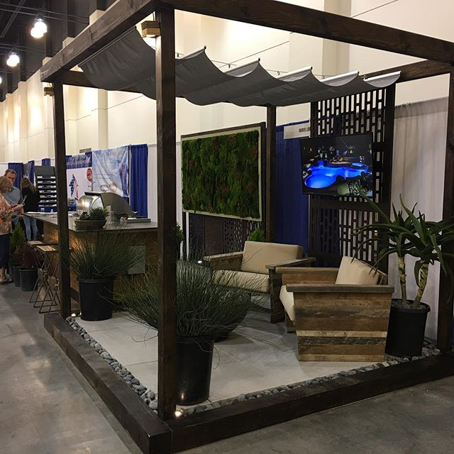 Thinking of remodeling your outdoor space? Come see us this weekend at the Pasadena Home Show to discuss your project and take advantage of show specials!