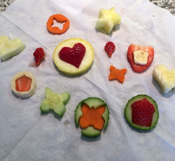 Toddler snacks, Jan 2014