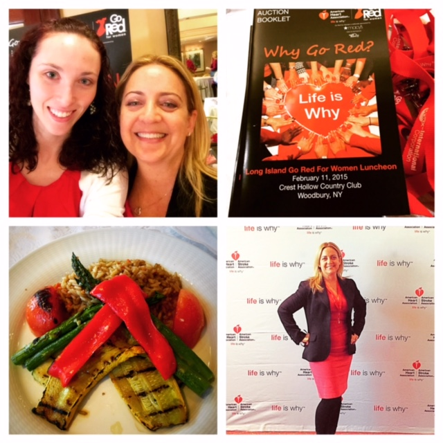 Pam, LI Go Red for Women Luncheon, Feb 2015
