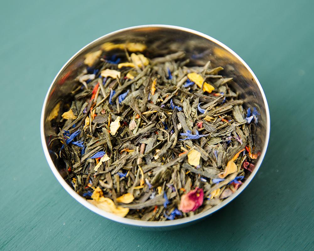 summer rose tea blend