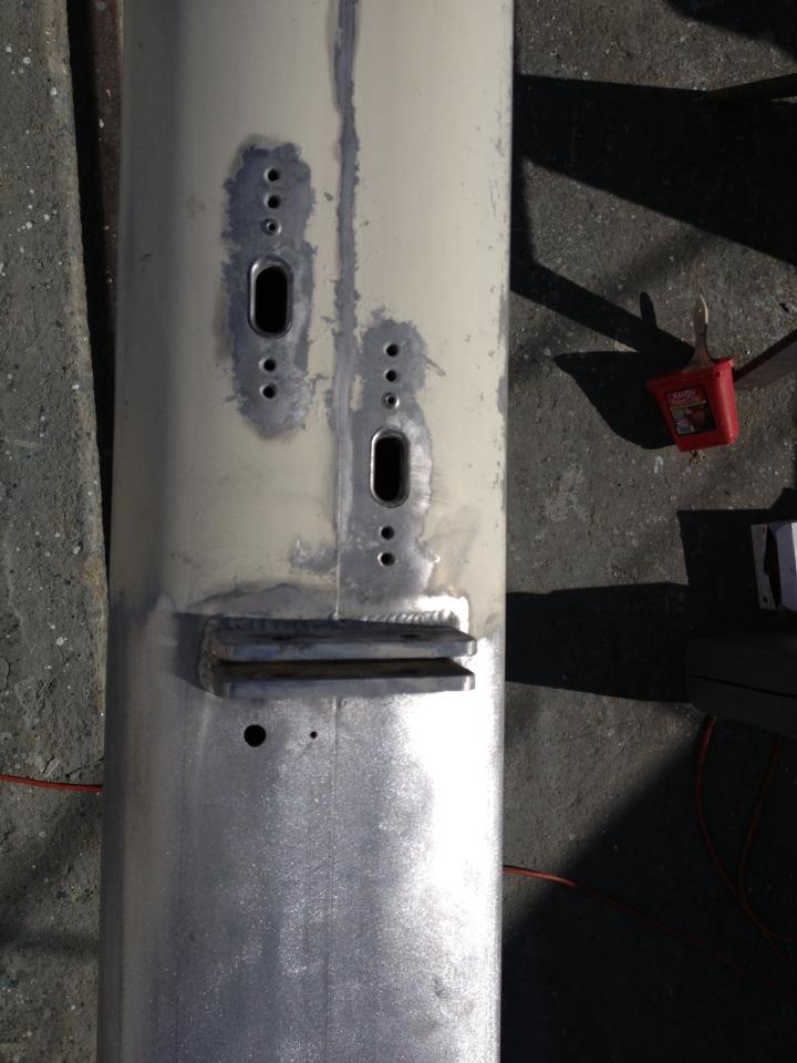 AluminumPolished Aluminum Mast Katch mast