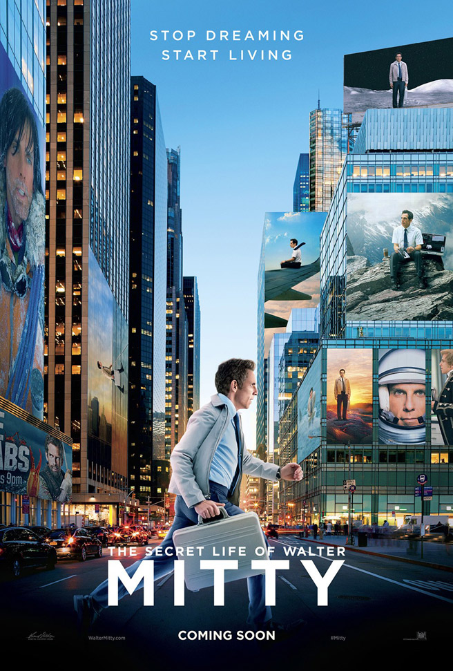 Ben Stiller directs and stars in  The Secret Life of Walter Mitty.
