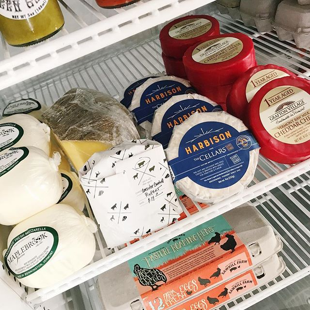 Our sold out Harbison is back in stock along with other delicious cheeses!