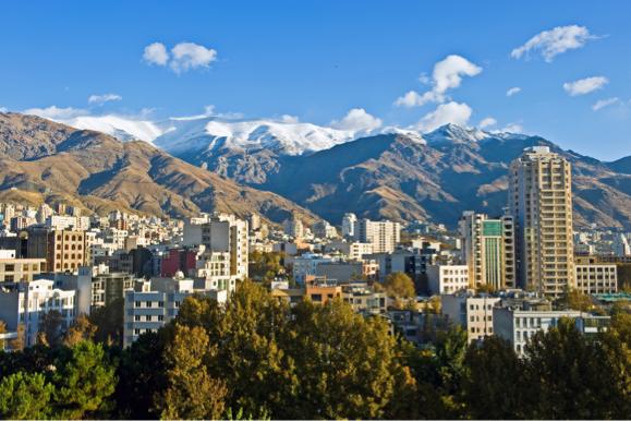 Tehran, capital of Iran.