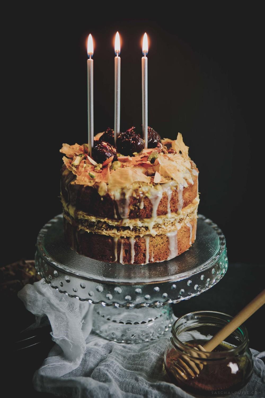 saschalouise.com - Baklava Cake