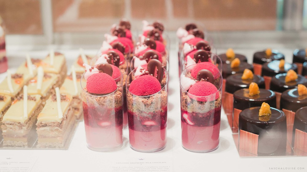 Explosive Raspberry Milk Chocolate Dessert : Burch and Purchese