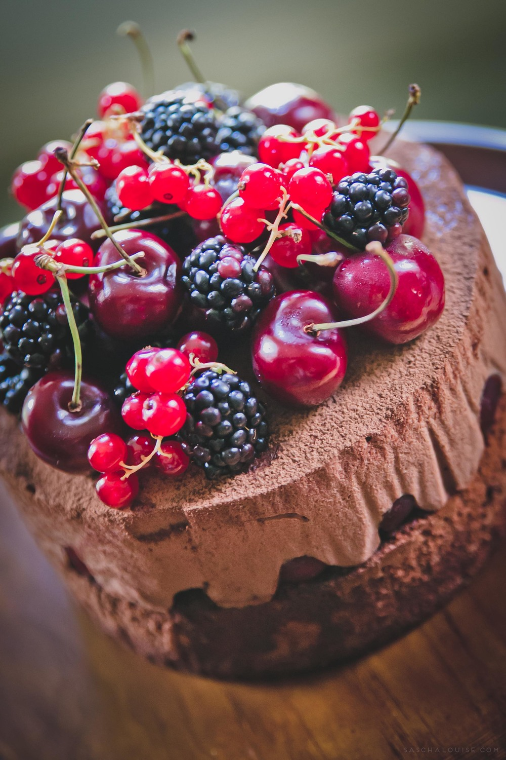 Black Forest Mousse Cake Sweet Gastronomy