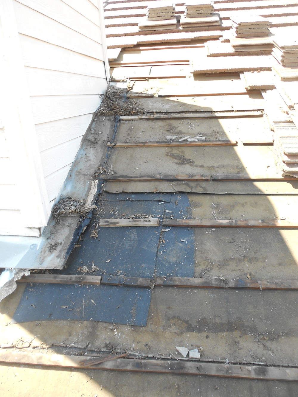 Roof Tear Off By Vedu0027s Roofing, Yuba City, CA
