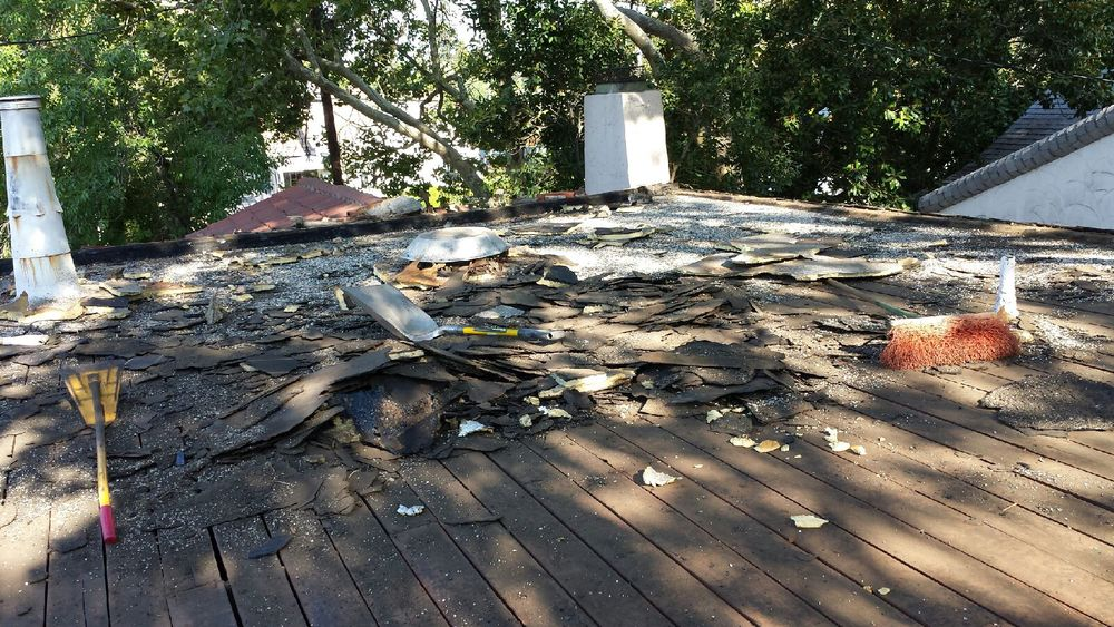 Roof Tear Off Project By Vedu0027s Roofing Of Yuba City, CA.