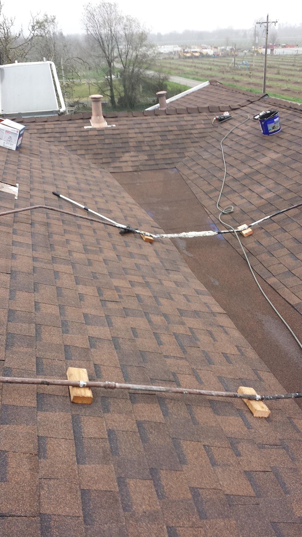 Tar Roof Repair After