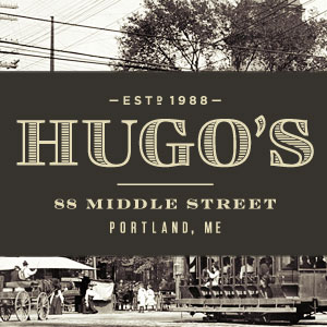 Hugo's branding by Might & Main.