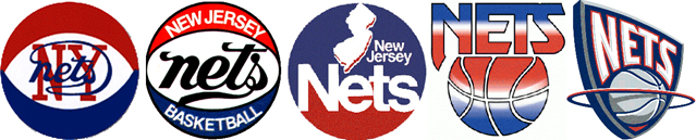 The Nets identity over the years.