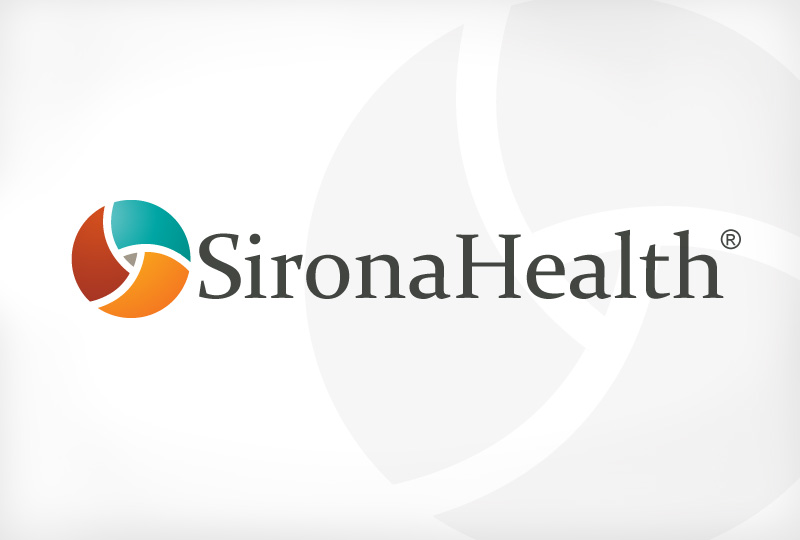 SironaHealth collateral designed by brand design firm Might & Main