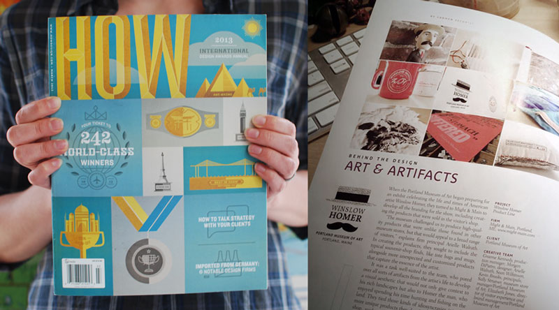 HOW Magazine: Behind the Design, March 2013