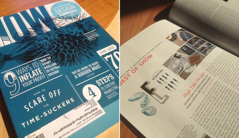 HOW Design Magazine: Self Promotion Design Annual, Sept. 2013