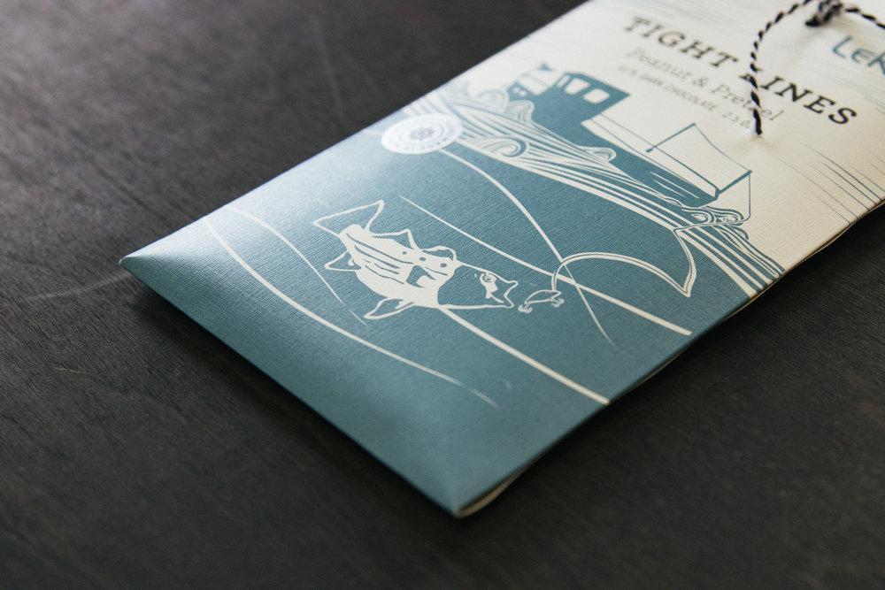 LeRoux Chocolate Bar Package Design