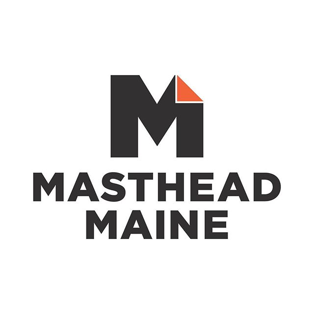 A peek at the identity for Masthead Maine; the state's largest media network. ⠀ .⠀ #brandsmithery #branding #maine