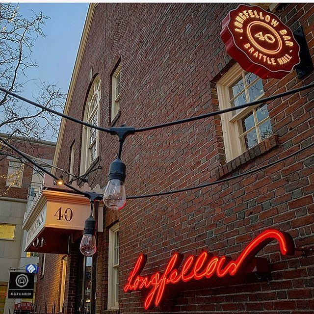 Nice work @srpsigns! We loved working with talented sign-makers for @longfellow_bar. . #brandsmithery #signage #branding