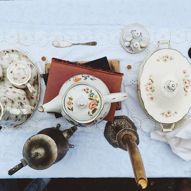 Have you come to join our tea party?