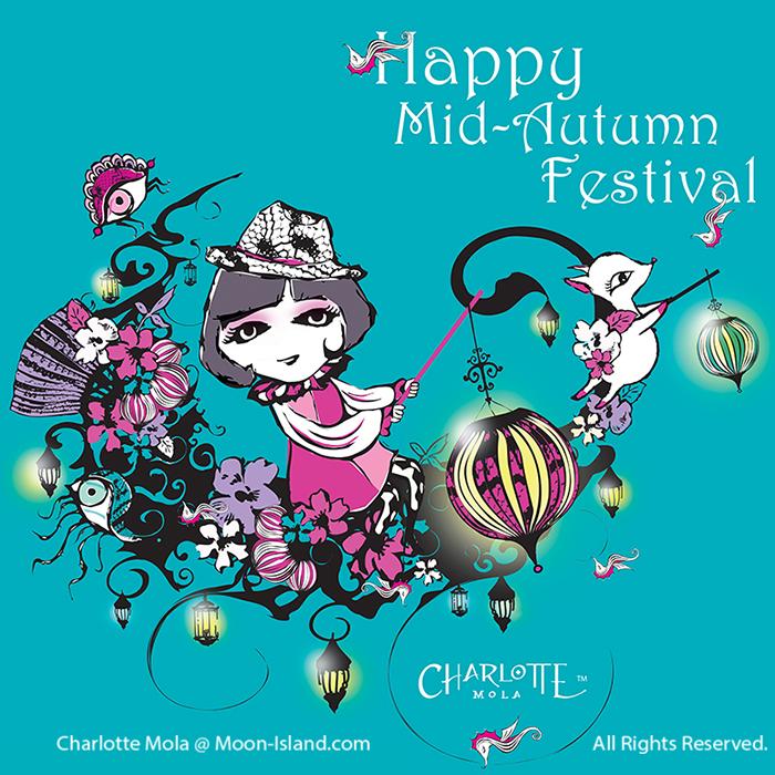 "# 0017, Moon- Gondola,Seasonal- Mid-Autumn Festival  Moon-Island永遠都在夜晚,但天色卻出奇地光  亮,因為這個地方有無數個月亮高掛。Charlotte  (沙樂)最喜歡利用她的想像力把月亮改造, 今日她採了好多花回來,把它變成有花香的貢多拉,和朋友  們坐著它去慶祝這個充滿""愛""的節日。"