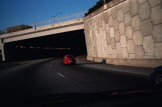 FROM MY CAR WINDOW: Photos shot from my car in Atlanta, Georgia in 1998 - 1999.