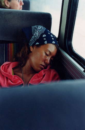 ONE SUMMER ACROSS AMERICA:A 3-month's journey across America during the summer of 2001, traveling by Greyhound bus and hitchhiking. Published as a book (with afterword by Robert Frank) in 2005.