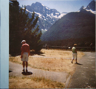NORTH CASCADES WALKABOUT BOOK:  A handmade book of 26 archival inkjet reproductions of Polaroids shot on a trip in the North Cascades in Oregon and Washington in 2008.
