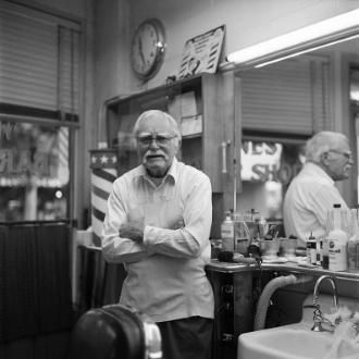 Recorded interview with Wayne at his barbershop, May 11, 2016. This is the first of an ongoing project to interview many of the people photographed in the North Portland Polaroid series. Please go to Bobby's Blog to read and listen to more of these interviews as they are conducted.