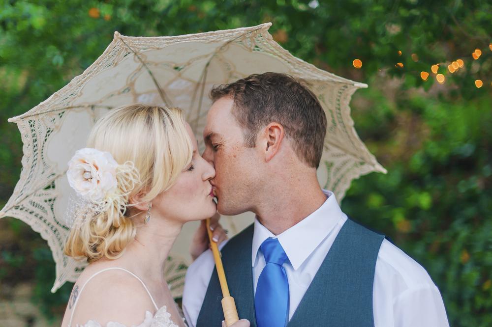 Kyle and Brandie's Vintage Wedding