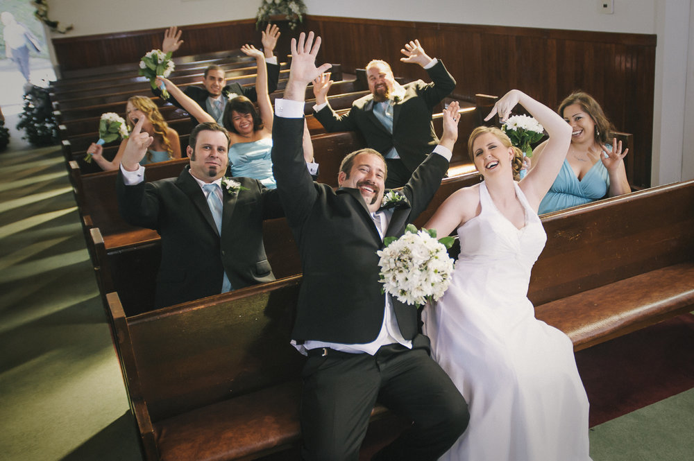 California Knots berry farm church wedding