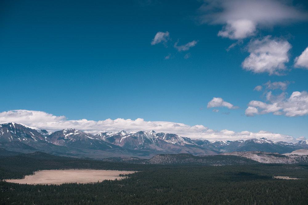 Eastern Sierra Mountain Range, Bald Mountain Lookout