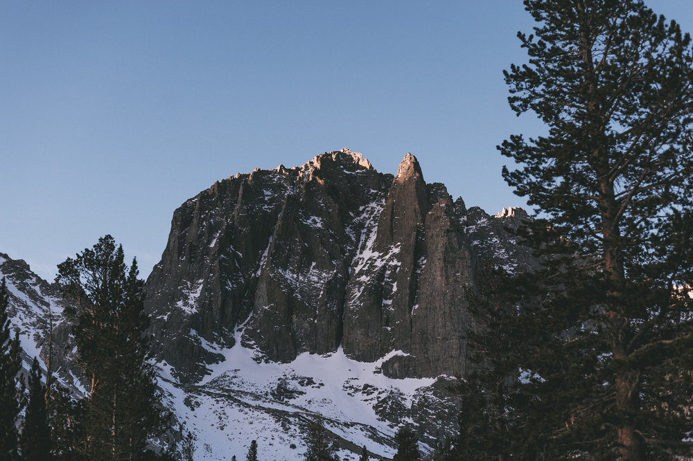 Temple Crag, Big pine creek