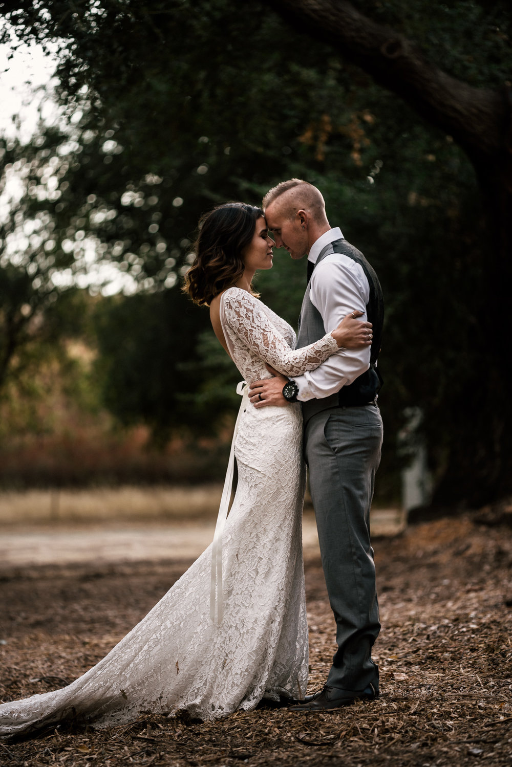 romance at rustic pymm ranch wedding venue in winchester california
